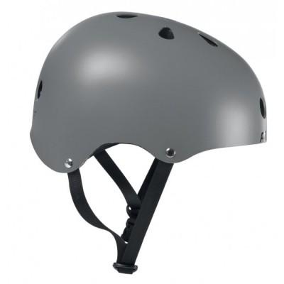 Шлем для роликов и самоката Powerslide Allround. Серый в магазине Rollbay.ru