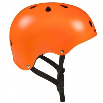 Шлем для роликов и самоката Powerslide Allround. Оранжевый в магазине Rollbay.ru