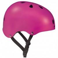 Шлем для роликов и самоката Powerslide Allround. Розовый