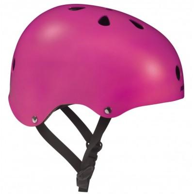 Шлем для роликов и самоката Powerslide Allround. Розовый в магазине Rollbay.ru