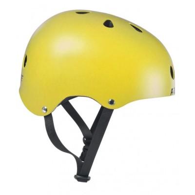 Шлем для роликов и самоката Powerslide Allround. Желтый в магазине Rollbay.ru