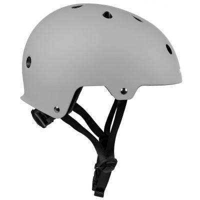 Шлем для роликов и самоката Powerslide Urban Helmet. Серый в магазине Rollbay.ru