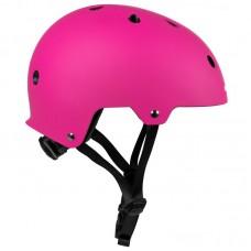 Шлем для роликов и самоката Powerslide Urban Helmet. Розовый
