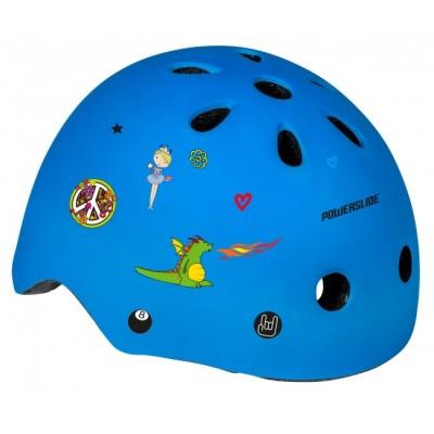Шлем для роликов и самоката Powerslide Allround Kids. Синий в магазине Rollbay.ru