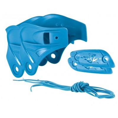 Набор для роликов Powerslide Imperial Custom Kit. Синий в магазине Rollbay.ru