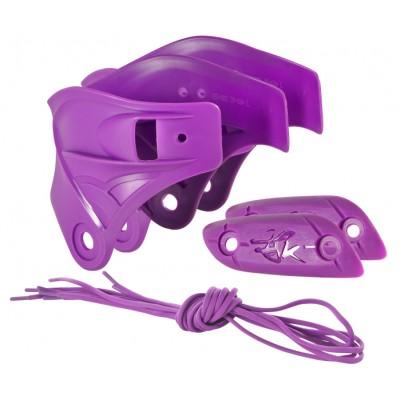 Набор для роликов Powerslide Imperial Custom Kit. Фиолетовый в магазине Rollbay.ru