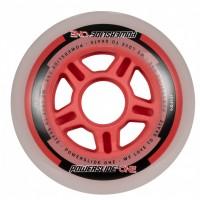 Колеса для роликов Powerslide One 84mm/82A Колеса/Втулки/Подшипники. Набор
