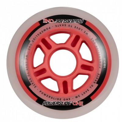Колеса для роликов Powerslide One 84mm/82A Колеса/Втулки/Подшипники. Набор в магазине Rollbay.ru