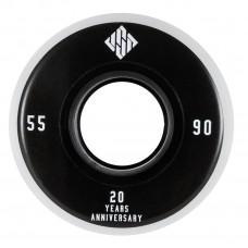 Колеса для роликов агрессив USD 20 Year Anniversary 55mm/90A 4-Pack