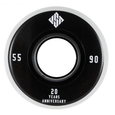 Колеса для роликов агрессив USD 20 Year Anniversary 55mm/90A 4-Pack в магазине Rollbay.ru
