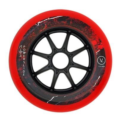 Колеса для роликовых коньков PowerSlide VI 125mm/88А. Красный в магазине Rollbay.ru