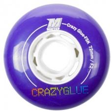 Колеса для роликовых коньков Matter Crazy Glue FSK, 72mm F2, 4-Pack