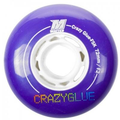 Колеса для роликовых коньков Matter Crazy Glue FSK, 72mm F2, 4-Pack в магазине Rollbay.ru