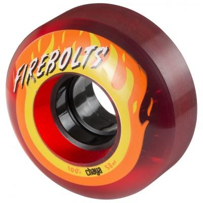 Колеса для квадов Chaya Firebolts 58x32/100A Red 4-pack в магазине Rollbay.ru