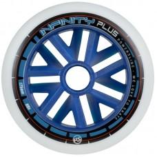 Колеса для роликовых коньков Powerslide Infinity Plus Blue Core 125mm/88A