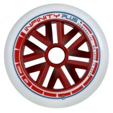 Колеса для роликовых коньков Powerslide Infinity Plus Red Core 125mm/84A
