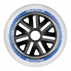 Колеса для роликовых коньков Powerslide Infinity 125mm/85A. Синий 6шт.