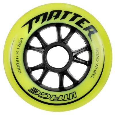 Колеса для роликов Powerslide Matter Image 100mm/86A 4-pack в магазине Rollbay.ru