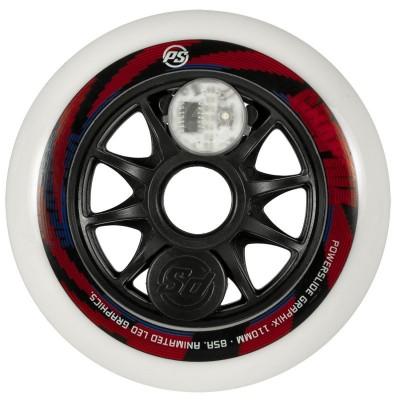 Колеса для роликов Powerslide Graphix Colorfull 110mm в магазине Rollbay.ru