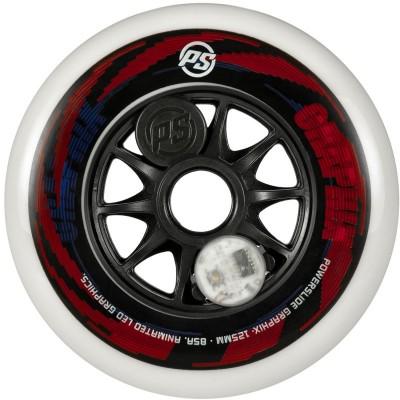 Колеса для роликов Powerslide Graphix Colorful 125mm в магазине Rollbay.ru