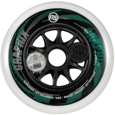 Колеса для роликов Powerslide Graphix White 125mm в магазине Rollbay.ru
