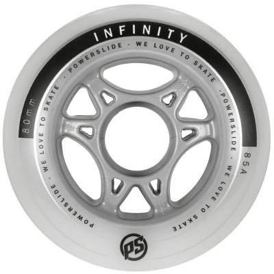 Колеса для роликов Powerslide Infinity II 80mm/85A 4-pack в магазине Rollbay.ru
