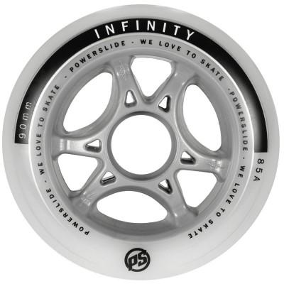 Колеса для роликов Powerslide Infinity II 90mm/85A в магазине Rollbay.ru