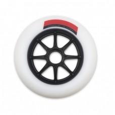 Колеса для роликовых коньков PowerSlide Infinity 125mm/86А. Белый