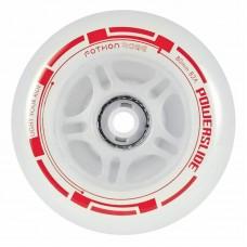 Колеса для роликов светящиеся Powerslide Fothon Rage 84mm/82A (Красный)