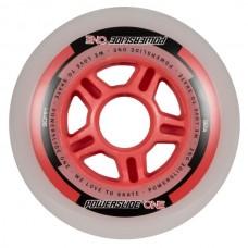 Колеса для роликов Powerslide One 90mm/82A Колеса/Втулки/Подшипники. Набор