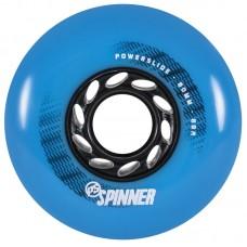 Колеса для роликов Powerslide Spinner 80mm/88A. Синий