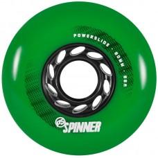 Колеса для роликов Powerslide Spinner 80mm/88A. Зеленый