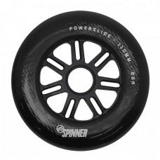 Колеса для роликов Powerslide Spinner 110mm/88A. Черный