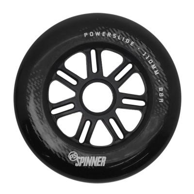 Колеса для роликов Powerslide Spinner 110mm/88A. Черный в магазине Rollbay.ru