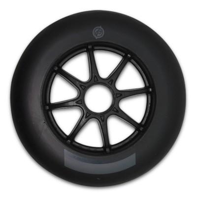 Колеса для роликовых коньков PowerSlide Infinity 125mm/86А. Черный в магазине Rollbay.ru