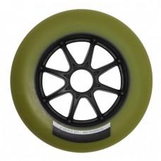 Колеса для роликовых коньков PowerSlide Infinity 125mm/86А. Зеленый