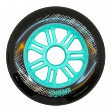 Колеса для роликов Powerslide Spinner 110mm/86A. Бирюзовый