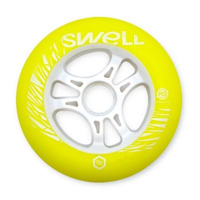 Колесо для роликов Powerslide Infinity Swell 110mm/86A. Желтый в магазине Rollbay.ru