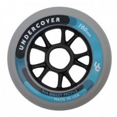 Колеса для роликов Powerslide Undercover 100mm/86A Bullet