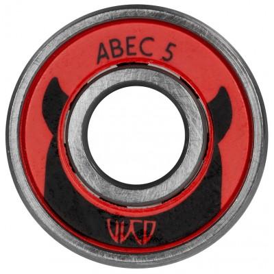 Подшипники для роликов Powerslide Wicked ABEC-5 (16 шт.) в магазине Rollbay.ru