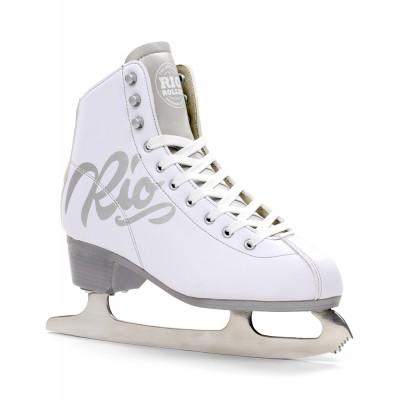 Коньки фигурные Rio Roller Script Ice White в магазине Rollbay.ru
