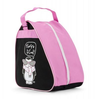Сумка для коньков SFR Junior Ice Skate Bag Pink в магазине Rollbay.ru
