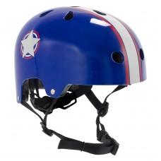 Шлем детский для роликов SFR Kids Helmet Blue/Silver