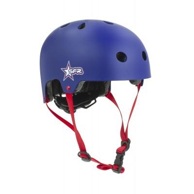 Шлем детский для роликов SFR Kids Helmet Blue/Red в магазине Rollbay.ru