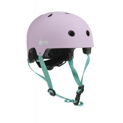 Шлем детский для роликов SFR Kids Helmet Pink/Green в магазине Rollbay.ru