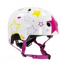 Шлем детский для роликов SFR Kids Helmet White/Pink