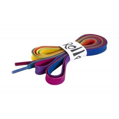Шнурки для роликов Rio Roller 180см. Мультицвет в магазине Rollbay.ru