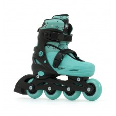 SFR Plazma Adjustable Skates Black/Green