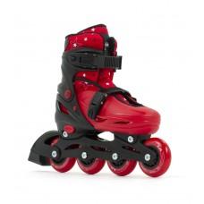 SFR Plazma Adjustable Skates Black/Red