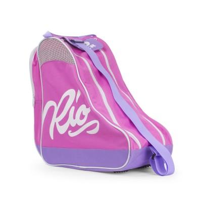 Сумка для роликов Rio Roller Script Skate Bag Pink в магазине Rollbay.ru